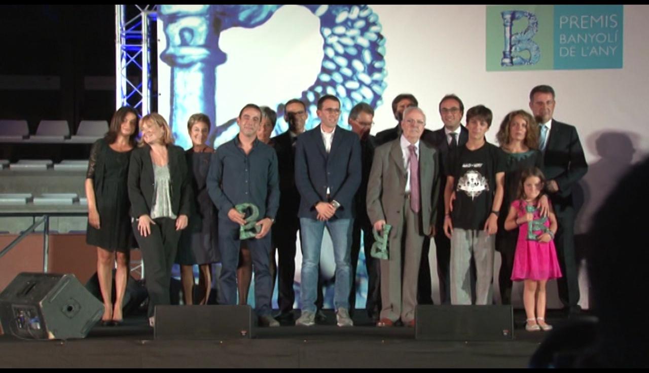 Prop de 300 persones assistiran a l'entrega del premi Banyolí de l'Any
