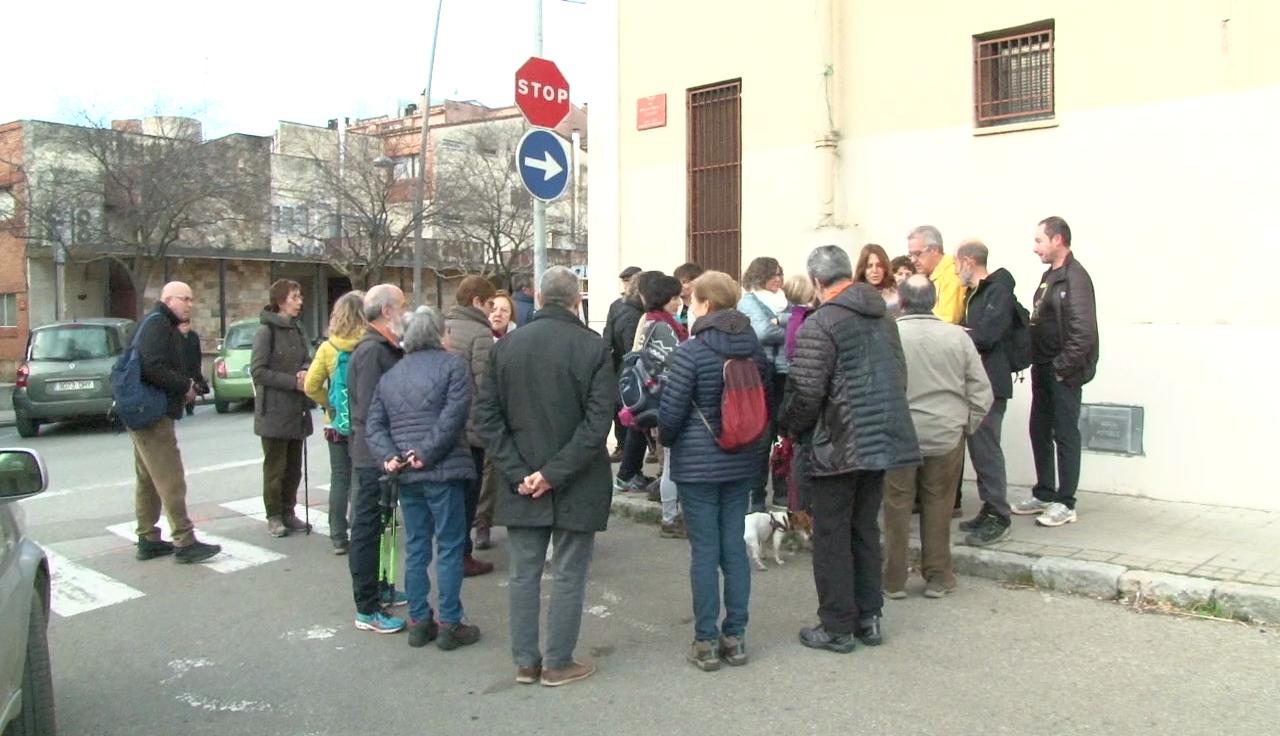 Conèixer el Pla de l'Estany porta més d'una trentena de persones fins a Borgonyà