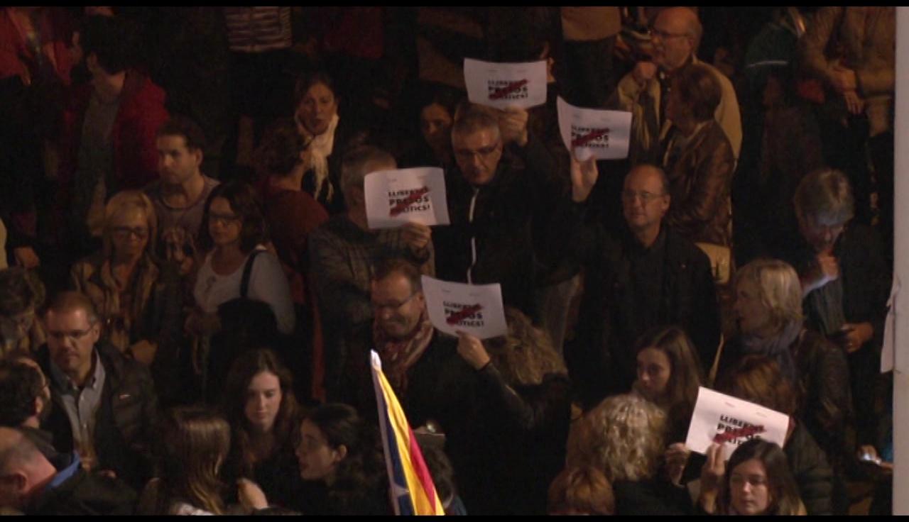 Un any de suport als presos polítics