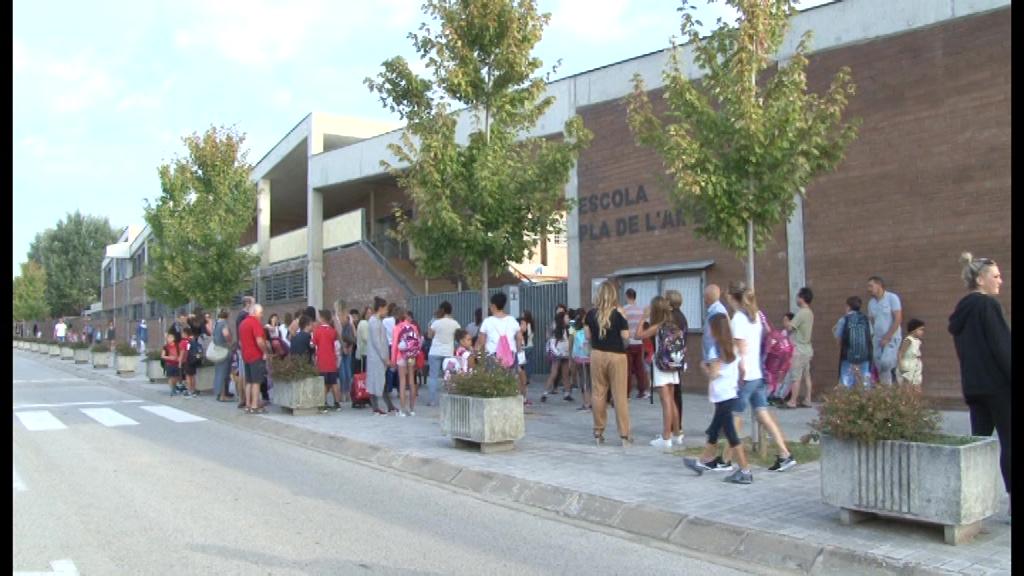Les AMPAS continuen gestionant els menjadors escolars del Pla de l'Estany