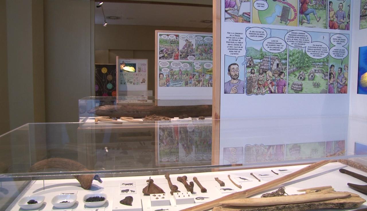Últims dies per veure l'exposició sobre la Draga a Banyoles