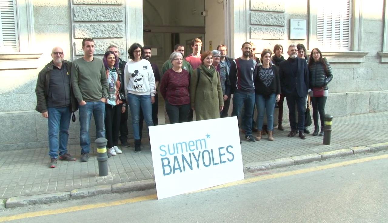 Sumem Banyoles presenta la seva candidatura i els deu primers membres de la llista