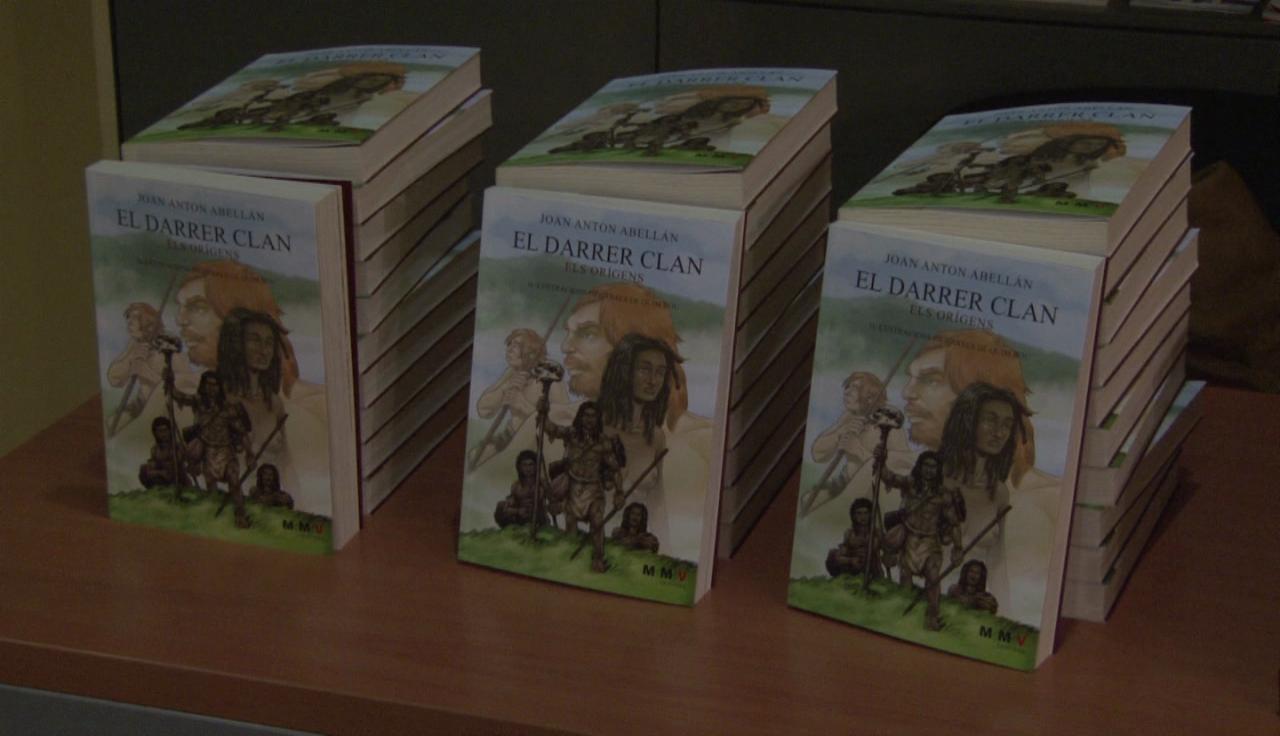 "Joan Anton Abellan presenta la seva primera novel•la ""El darrer clan"""