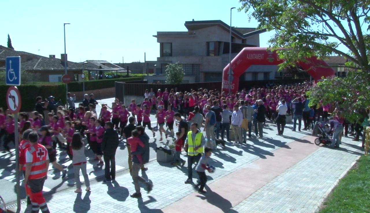 La I Cursa de la Dona del Pla de l'Estany supera les expectatives amb més de 1.300 participants