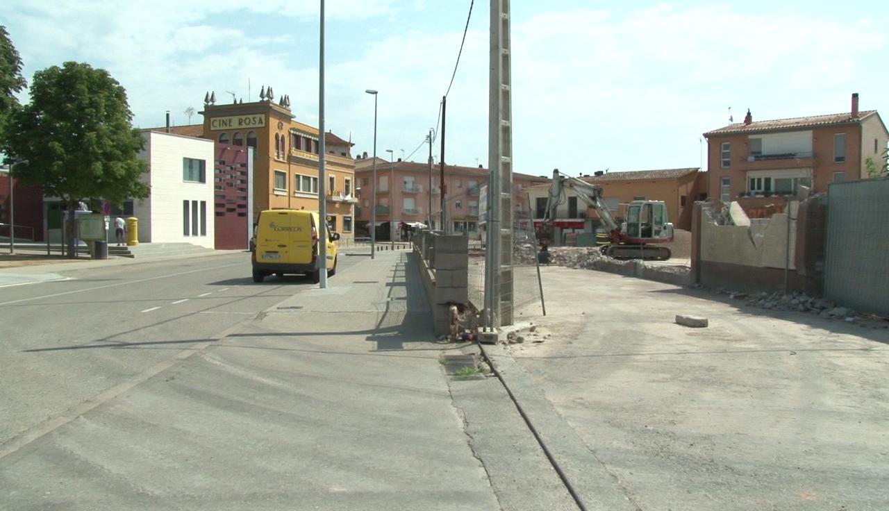 El nou aparcament de Cornellà del Terri s'acabarà en les properes setmanes