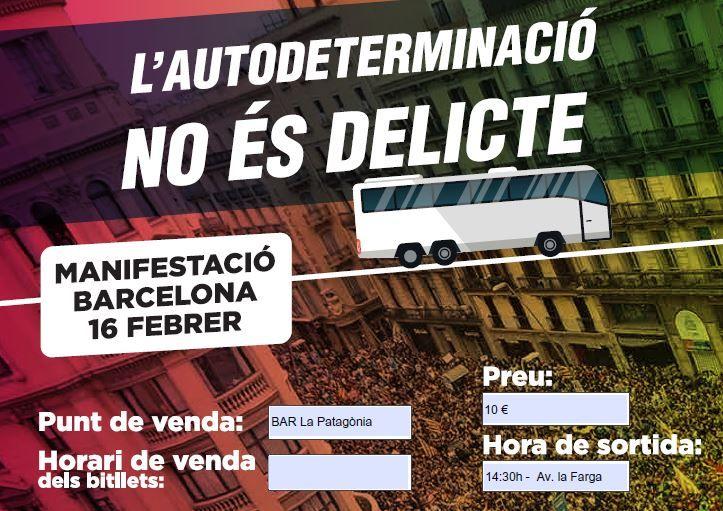 L'ANC Pla de l'Estany omple set autobusos per anar a la manifestació de Barcelona