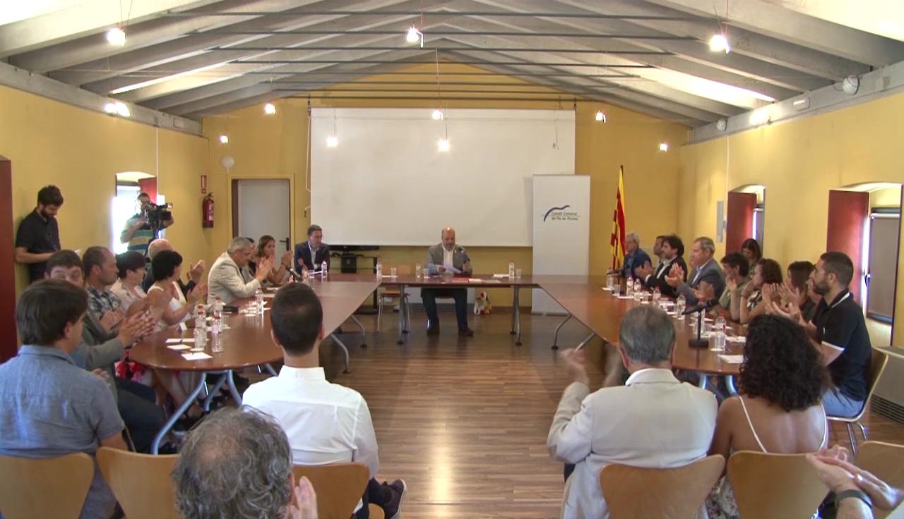 Continuen les converses entre ERC i JxCat per confeccionar el cartipàs del Consell Comarcal del Pla de l'Estany