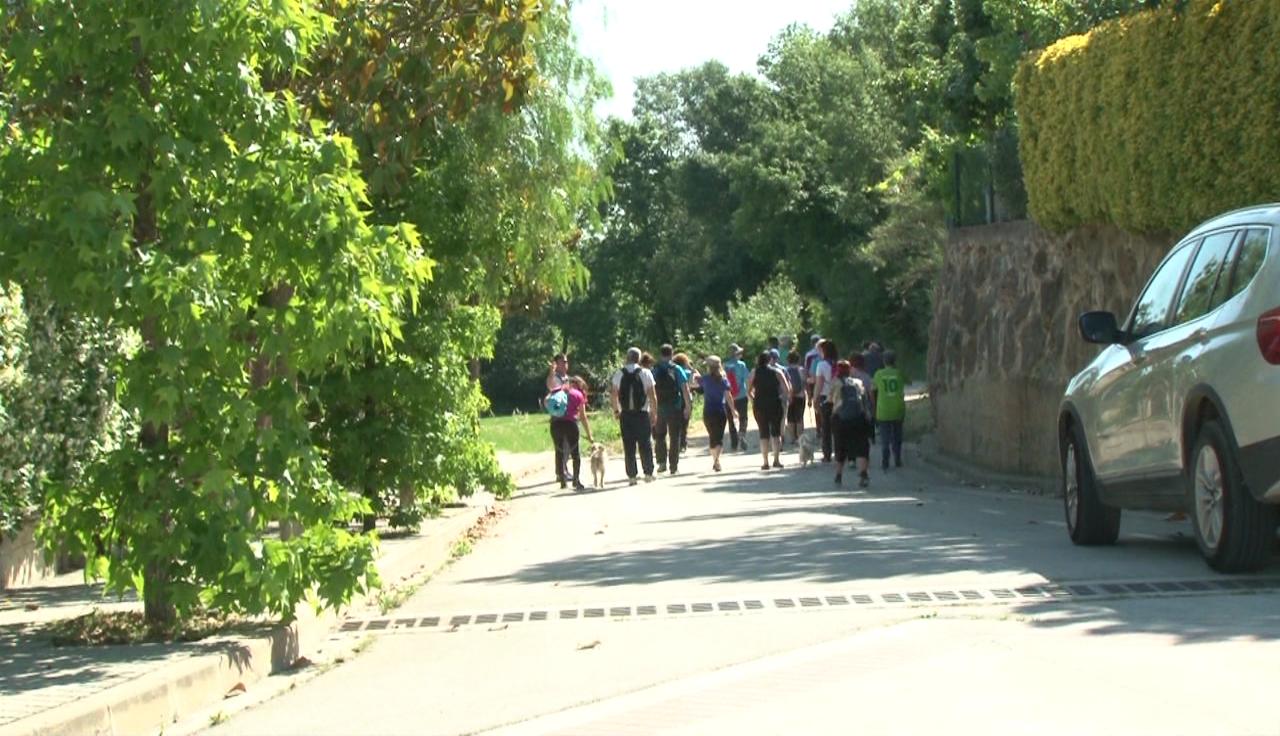 La 5a Caminada Saludable porta als participants a conèixer els rentadors de Camós