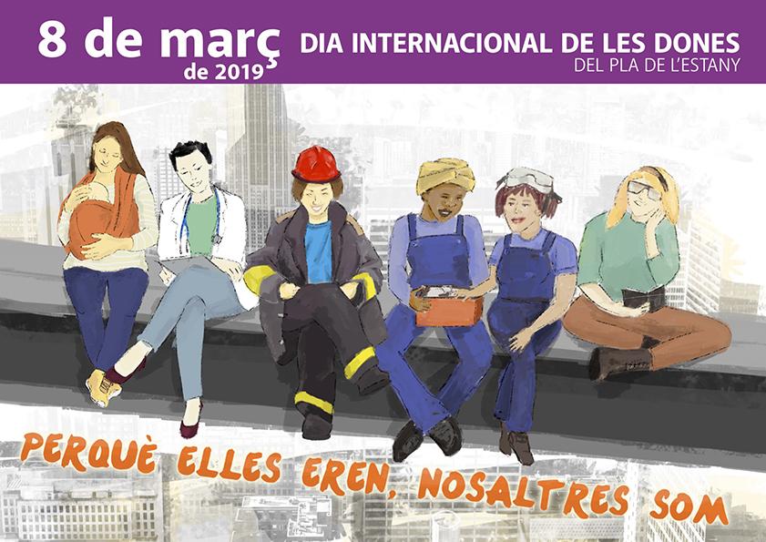 El Pla de l'Estany commemorarà el Dia de la Dona amb diferents actes