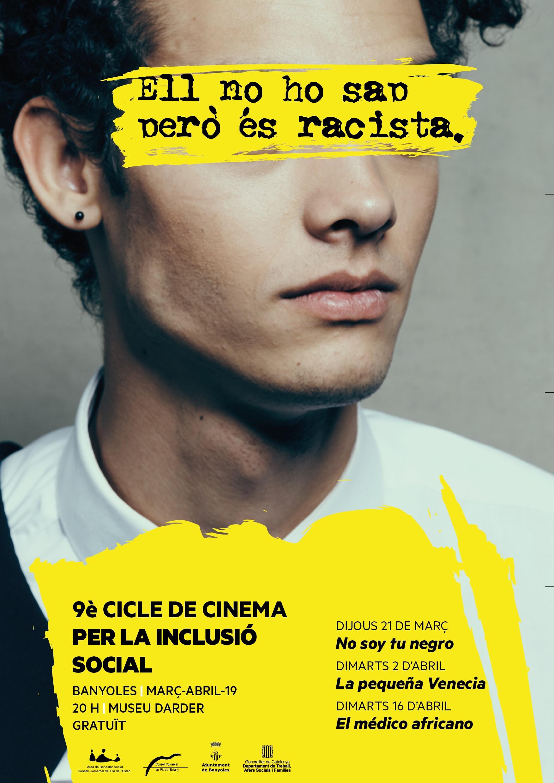El racisme centrarà el 9è Cicle de Cinema per la Inclusió Social