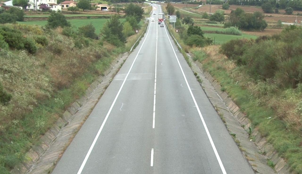 Aprovat definitivament el projecte per construir un carril addicional a la C-66 entre Serinyà i Cornellà del Terri