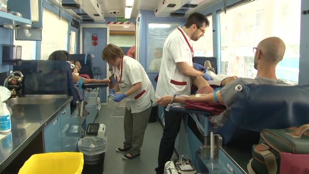 Donació extraordinària de sang a Banyoles