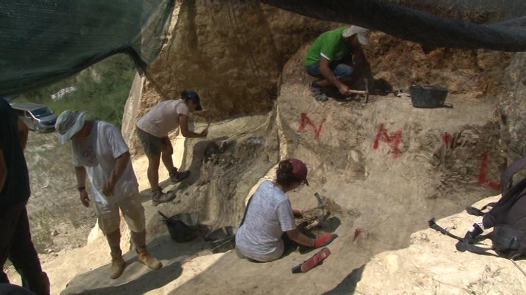 Nova campanya d'excavacions al jaciment d'Incarcal (Crespià)
