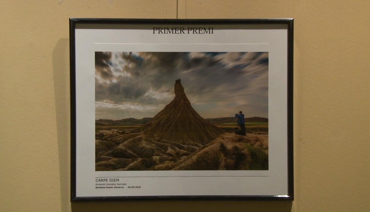 Armando González, guanyador del XVIII Concurs de fotografia de la natura