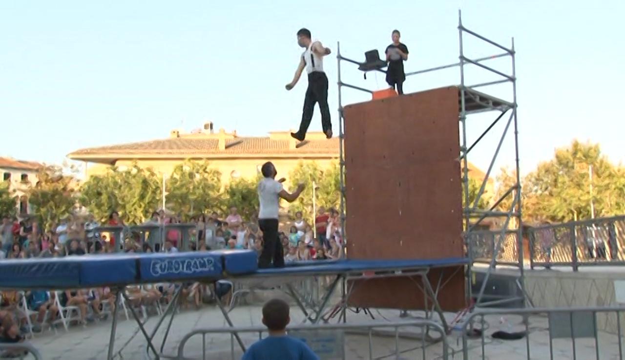 Festes d'Agost 2018 - Actuació de Circ